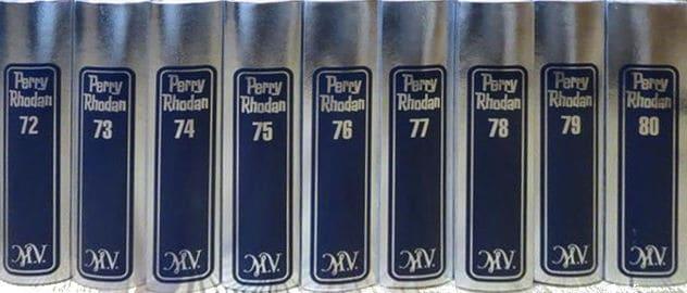 Die Silberbände der Perry-Rhodan-Serie
