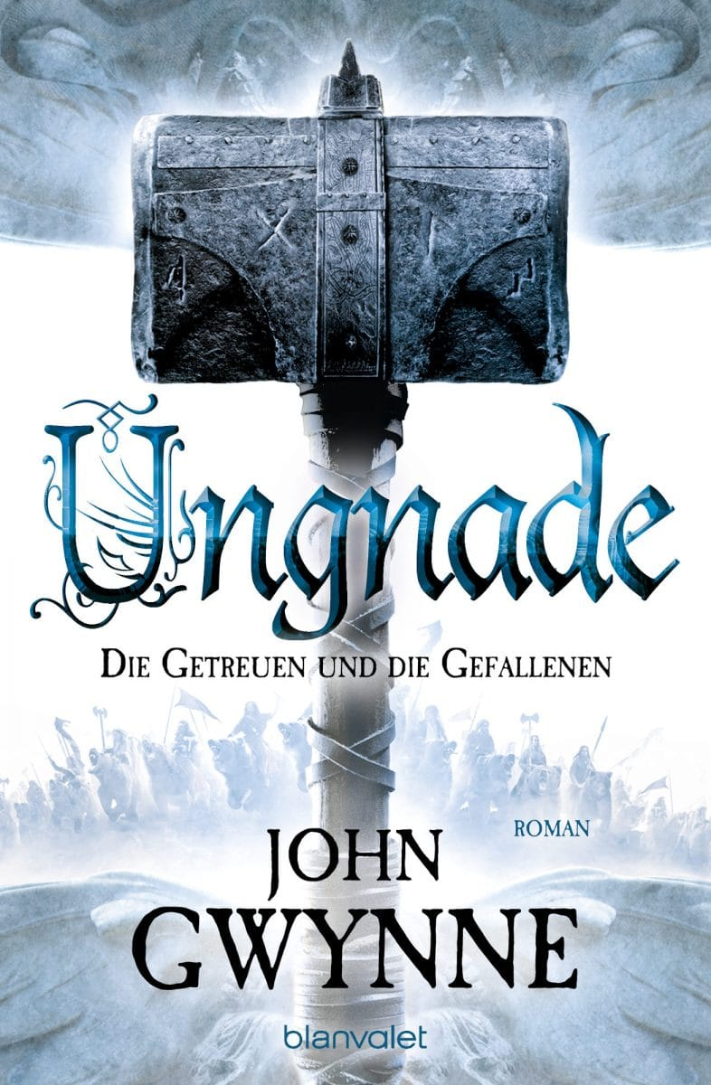 Ungnade von John Gwynne (Buchcover)