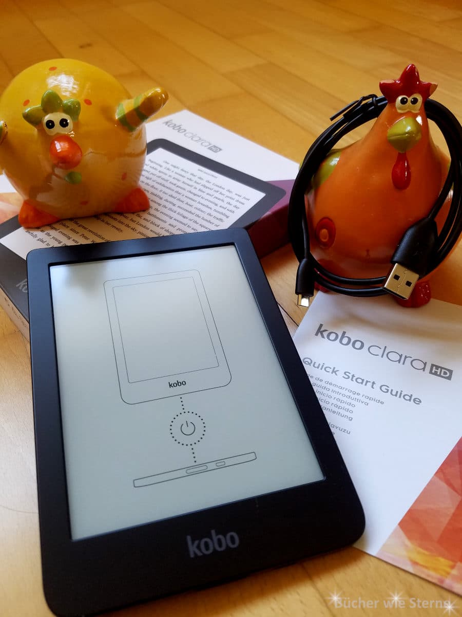 Moderne E-Book-Reader haben Speicherplatz für bis zu 6.000 Bücher.