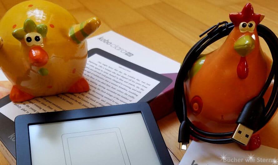 Kobo Clara HD – mein neuer E-Reader ist da