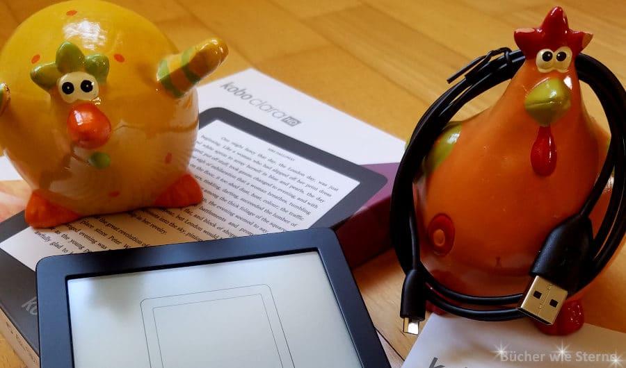 Kobo Clara HD - mein neuer E-Reader ist da