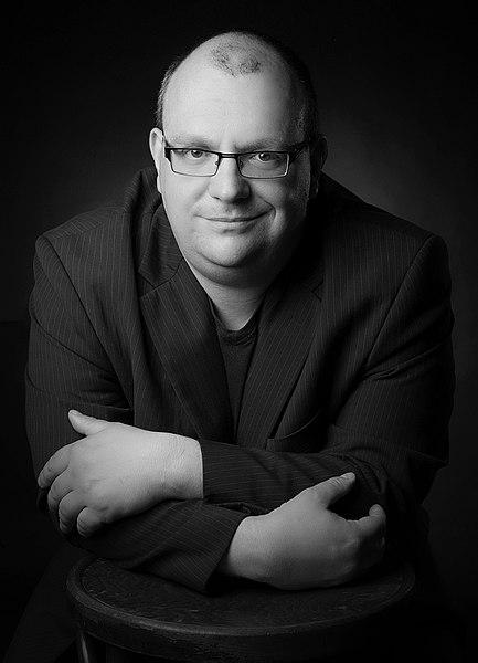 """Michael Schreckenberg, Autor von """"Der Finder""""."""