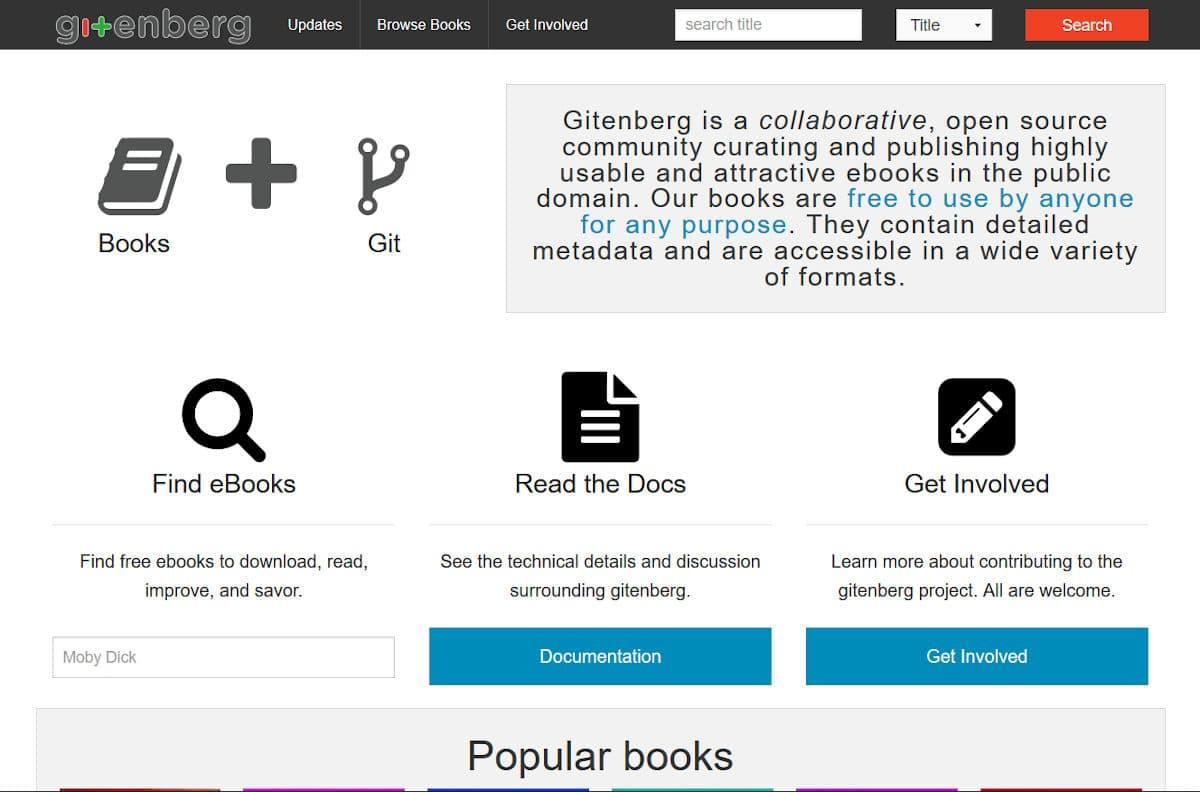 Kostenlose E-Books bei Gitenberg