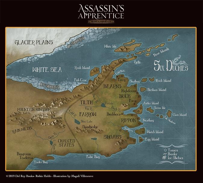 Karte der sechs Provinzen (Illustrierte Jubiläumsausgabe)