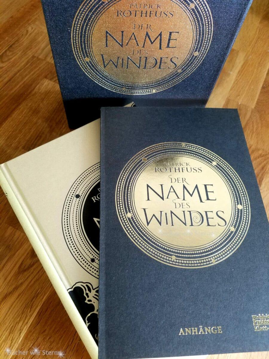 Der Name des Windes (illustrierte Luxussonderausgabe) von Patrick Rothfuss