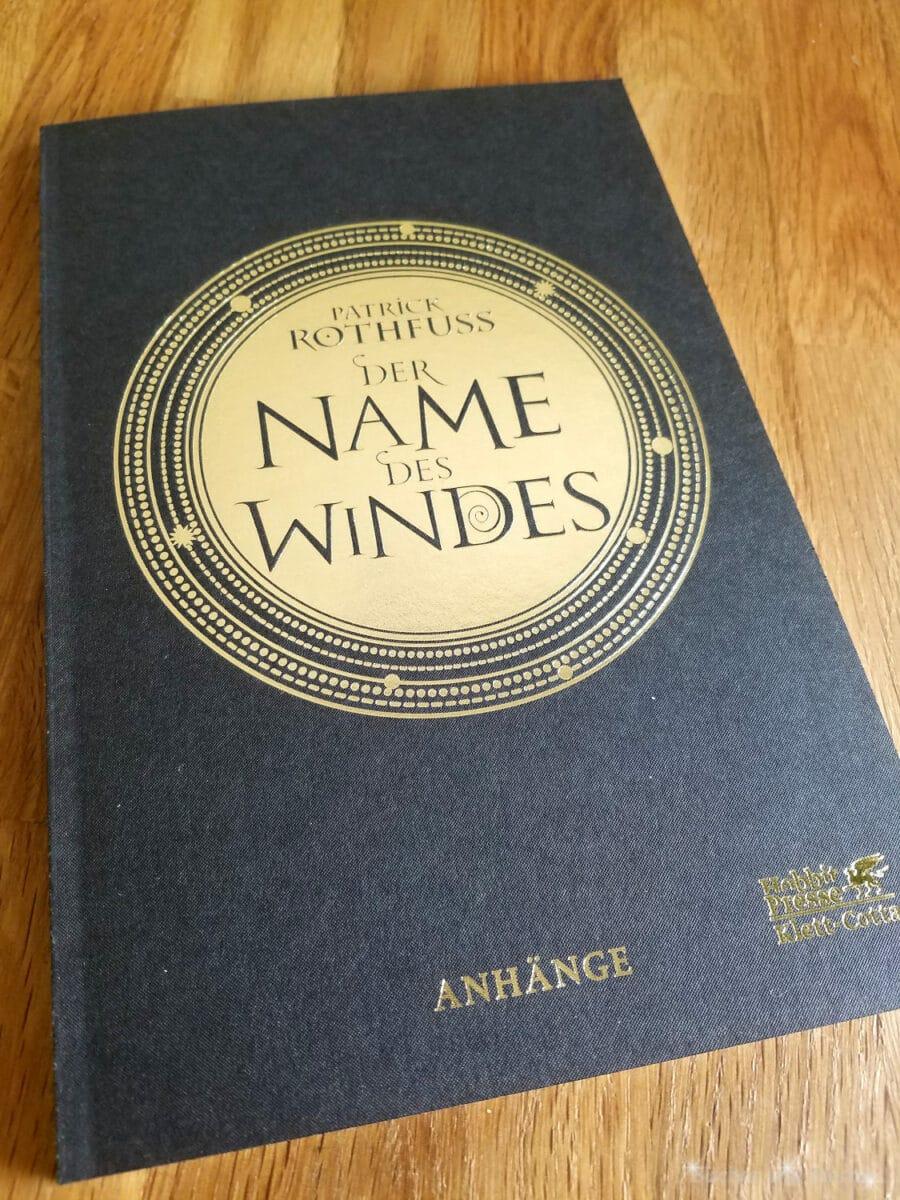 Der Name des Windes (illustrierte Luxussonderausgabe) von Patrick Rothfuss, Beiheft