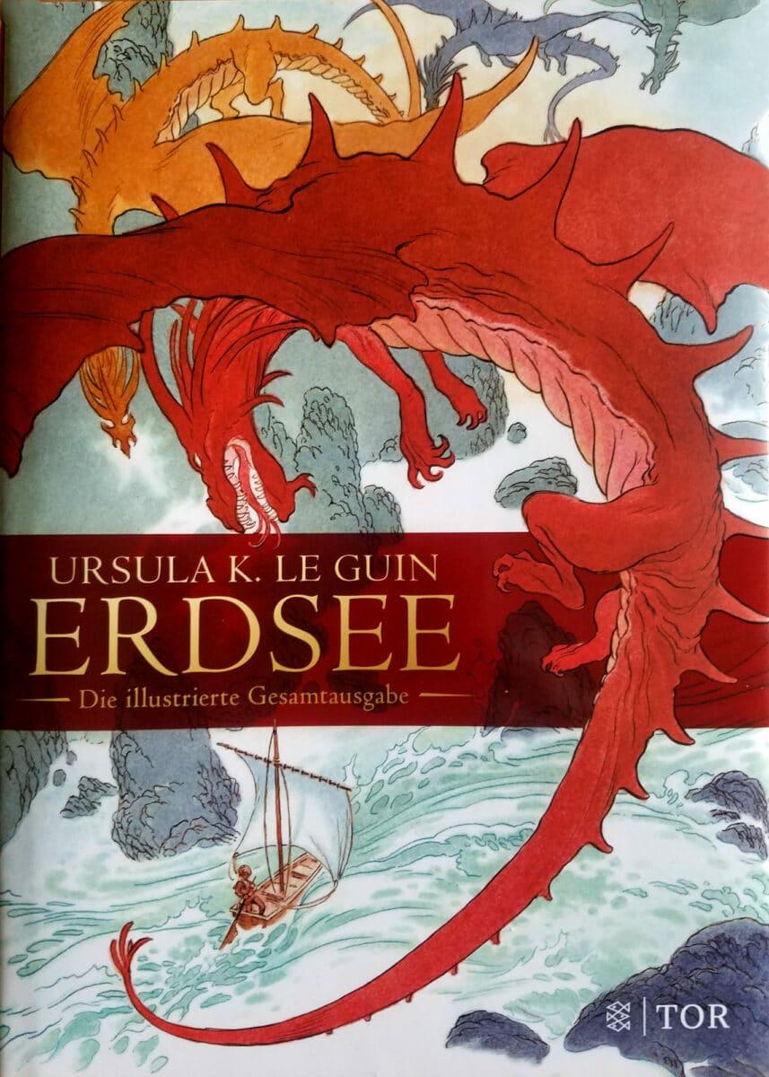 Ursula K. Le Guin: Erdsee, illustrierte Gesamtausgabe, Fischer Tor, 2018 (Illustrationen von Charles Vess)