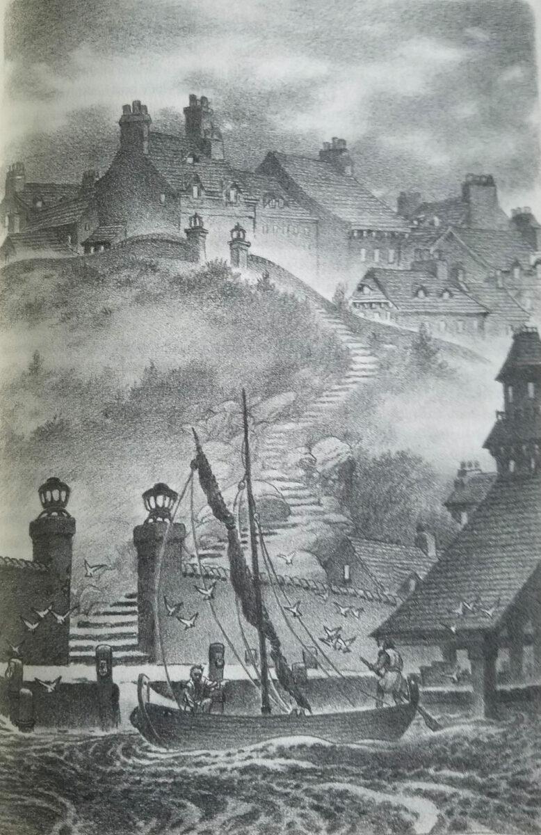 Erdsee (illustrierte Gesamtausgabe), Künstler: Charles Vess