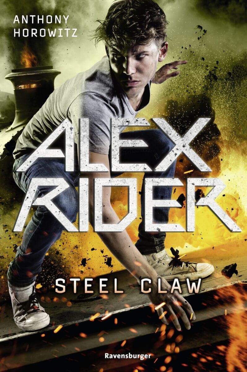 Anthony Horowitz: Steel Claw (Alex Rider 10), Taschenbuch, Ravensburger, 2020.