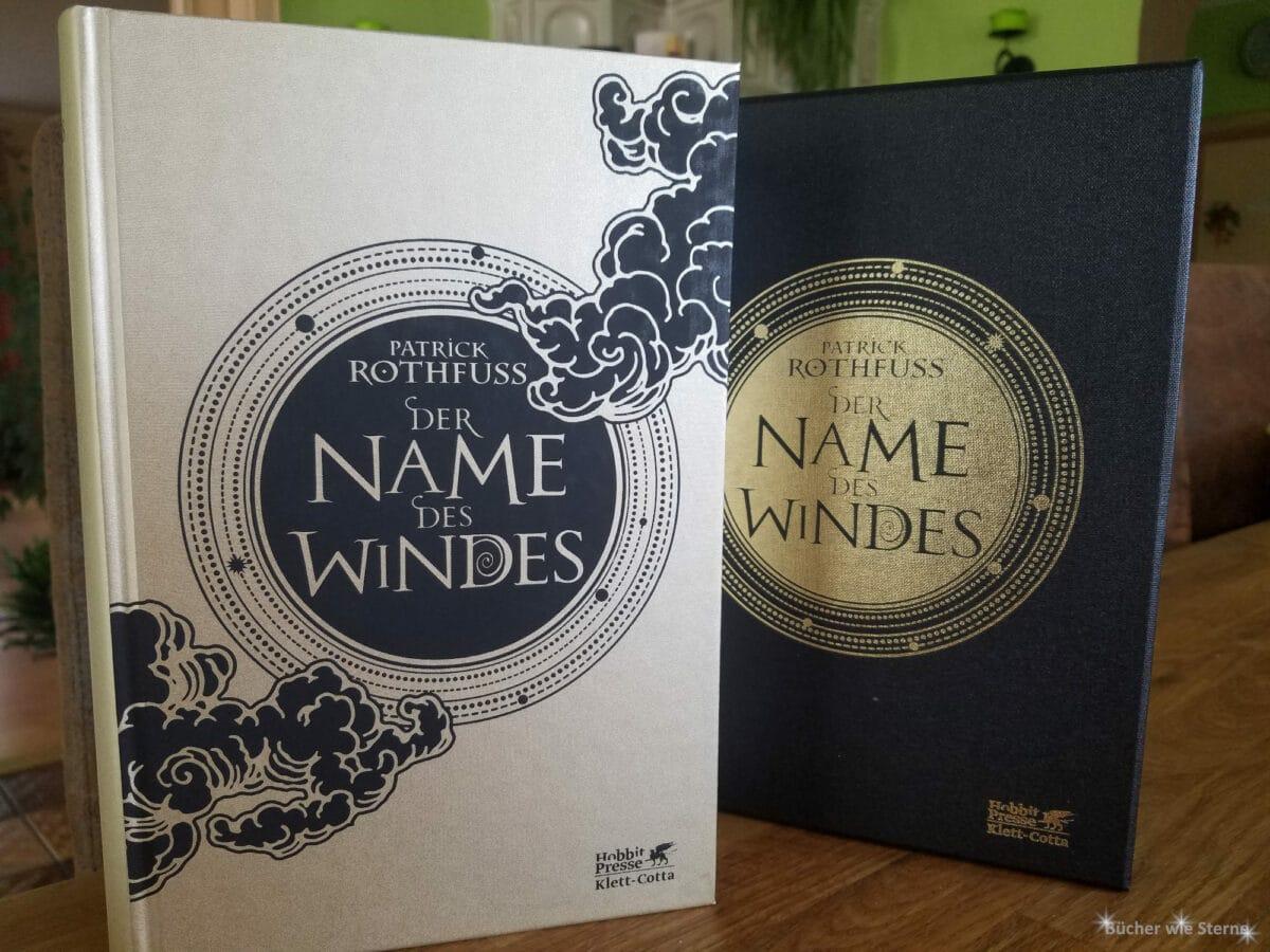 Neuzugänge im September 2020: Der Name des Windes (illustrierte Deluxe Ausgabe) von Patrick Rothfuss