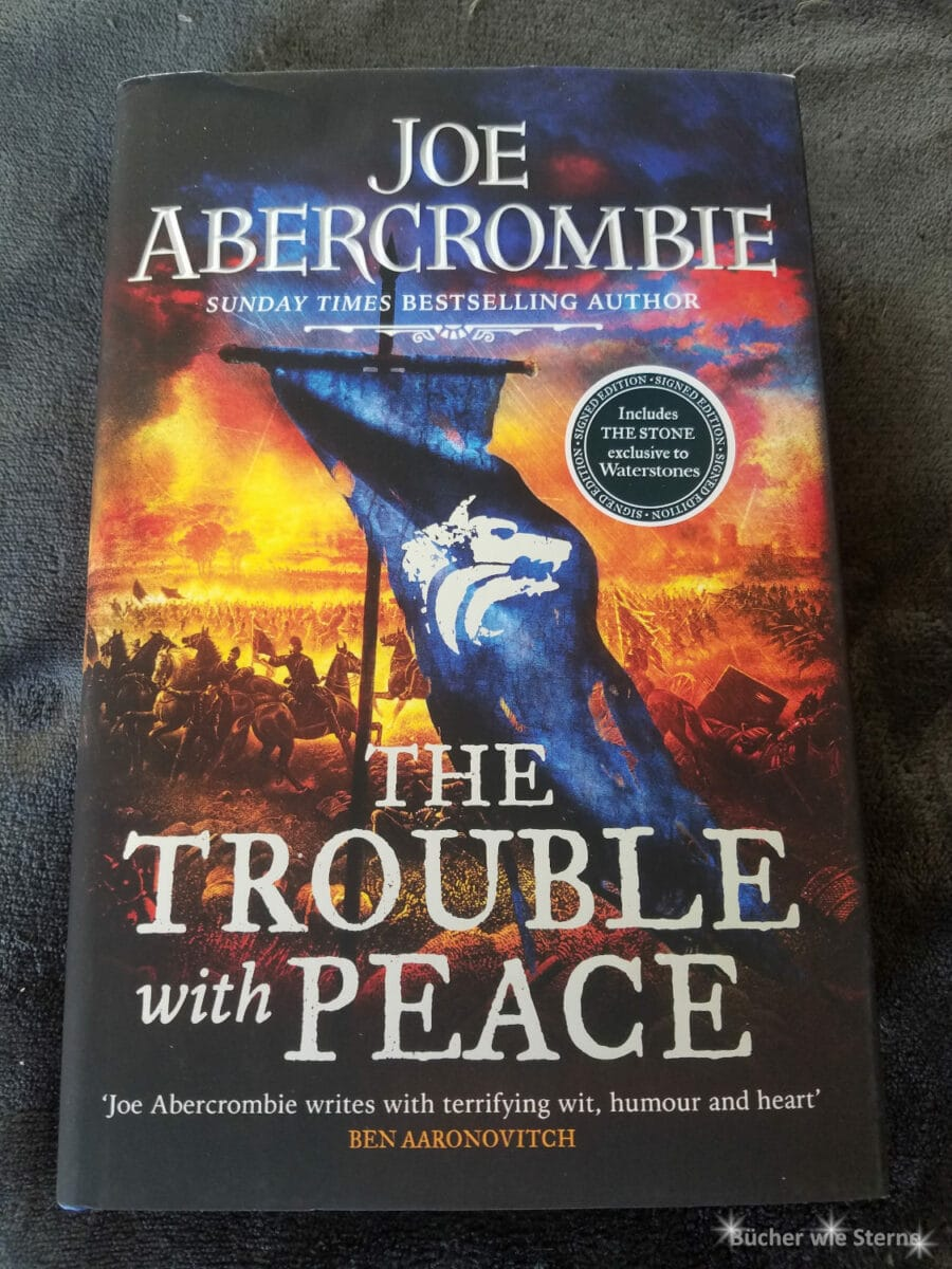 Neuzugänge im September 2020: The Trouble With Peace von Joe Abercrombie
