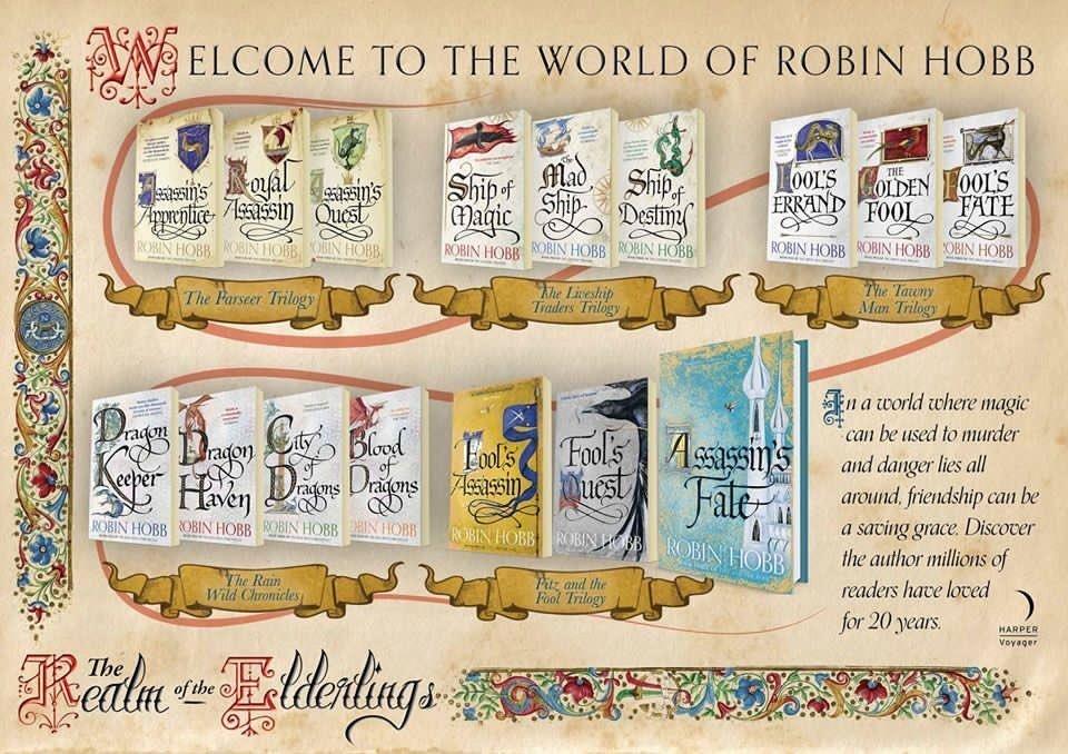 Die empfohlene Reihenfolge der Bücher. Das letzte Buch: Die Tochter des Wolfs