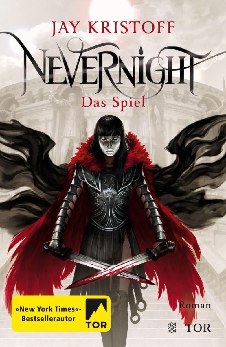 Jay Kristoff: Nevernight – Das Spiel, Dt. Hardcover, TOR Verlag, 2018.
