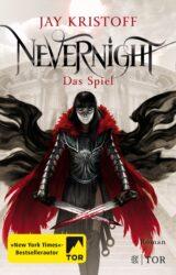 Jay Kristoff: Nevernight – Das Spiel, Dt. Hardcover, Fischer TOR-Verlag, 2018.