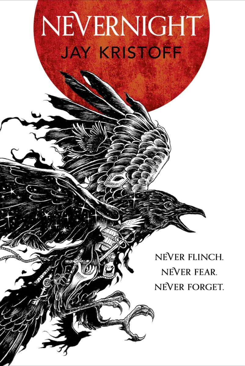 Jay Kristoff: Nevernight, englische Taschenbuchausgabe, Harper Collins, 2017