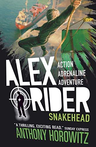 Anthony Horowitz: Sneakhead (Alex Rider 7), englische Taschenbuchausgabe, 2015