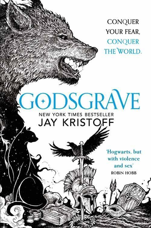 Jay Kristoff: Godsgrave, Taschenbuchausgabe, Harper Collins, 2018. (Nevernight – Das Spiel)