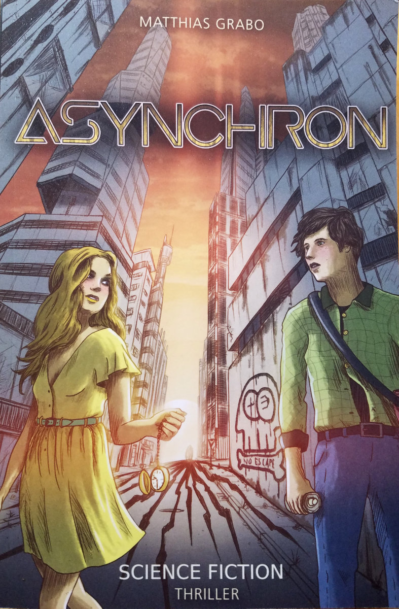 Matthias Grabo: Asynchron, Intependently Published, Februar 2021