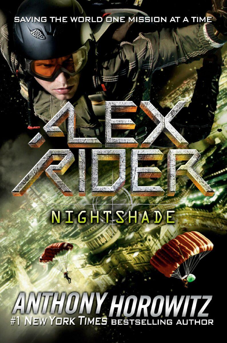 Anthony Horowitz: Nightshade (Alex Rider 11), Taschenbuchausgabe, Walker Books, ab 01. Juni 2021.