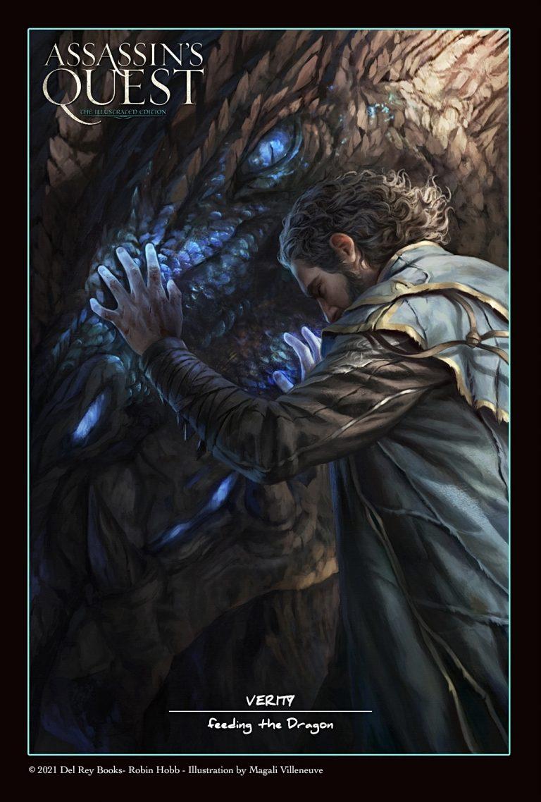 """Feeding the Dragon"", © Illustration: Magali Villeneuve; Assassin's Quest (Illustrierte Ausgabe)"